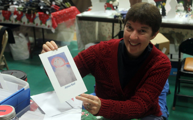 Holiday shoppers flock to the Fort Kent craft fair - Fiddlehead Focus