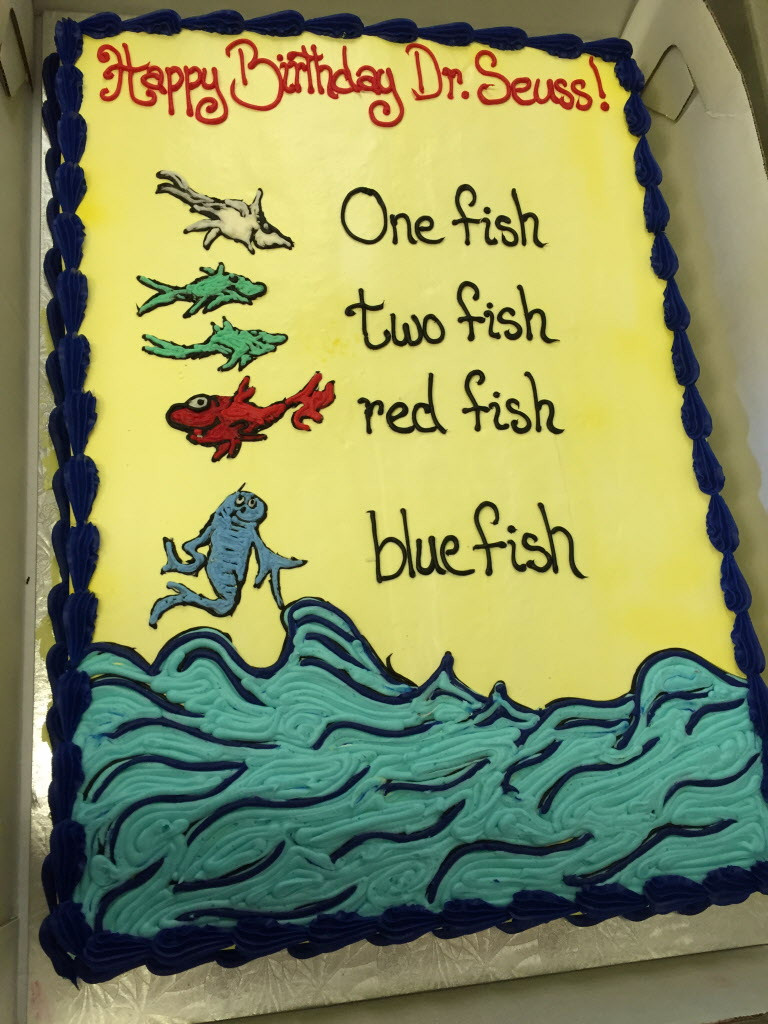 Paradis Shop N Save Employee Crystal Bouley Created Elaborate Cakes Inspired By The Writings Of Dr Seuss For A Celebration Anniversary Late