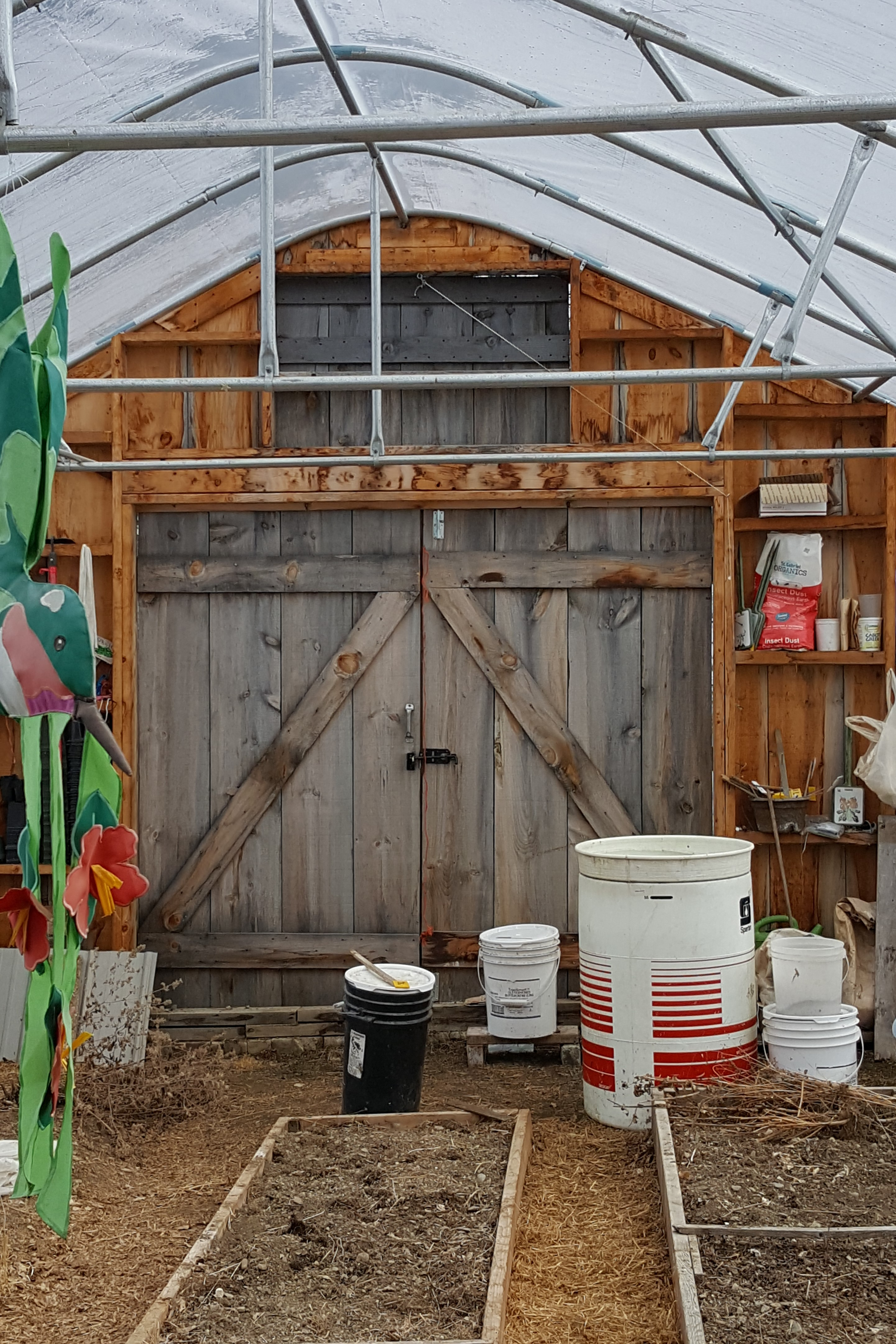 A Hoop House Is Like Gardening Hundreds Of Miles South