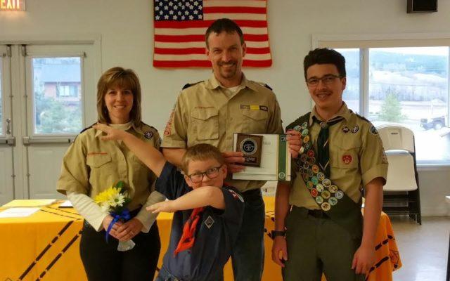 Caribou family presented rare Scouting award - Fiddlehead Focus