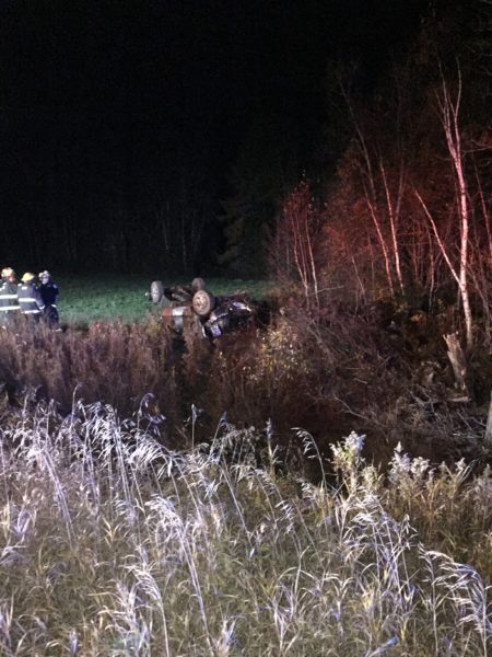 Dropped lighter leads to Woodland crash - Fiddlehead Focus