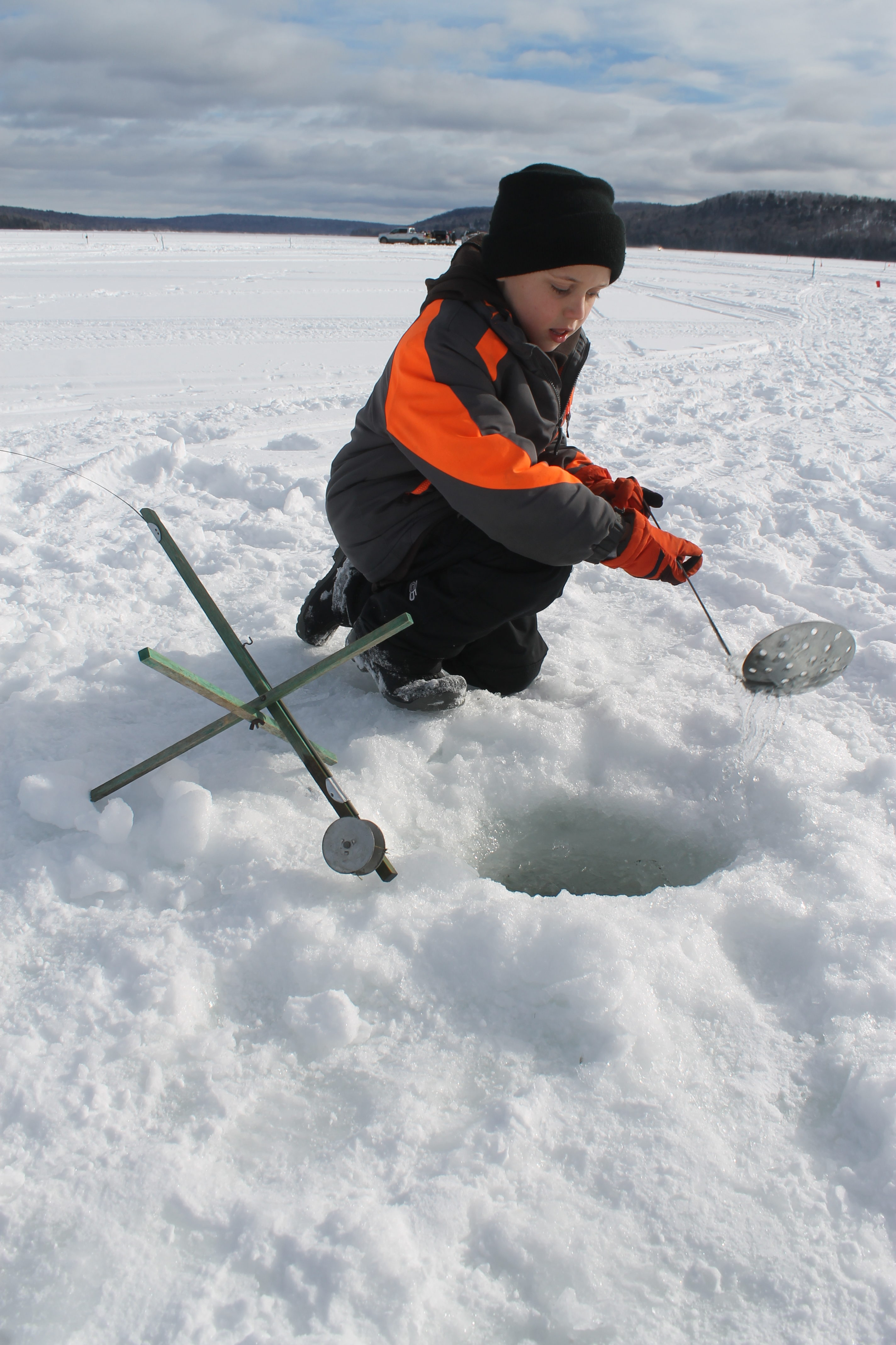 Conditions look good with 17 000 in prizes available in for Maine ice fishing derbies