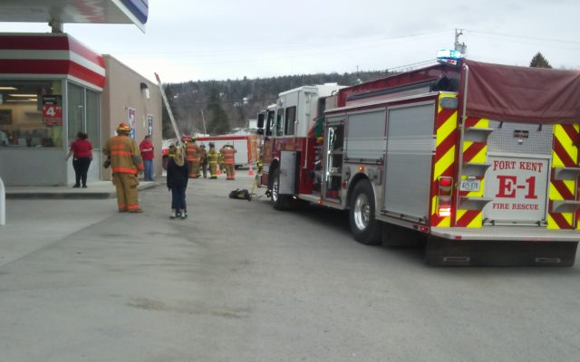 Smoke draws firefighters to Circle K in Fort Kent