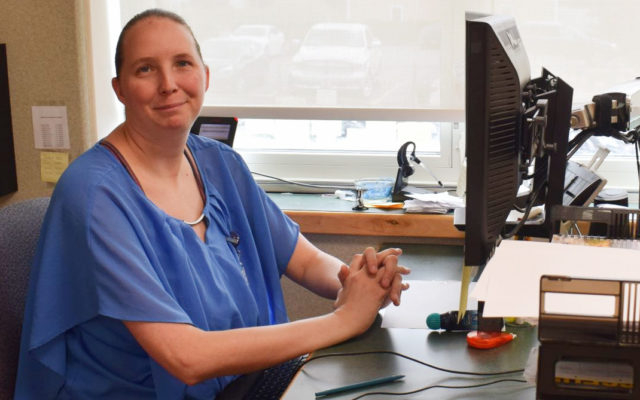 Northern Maine Medical Center employee earns health