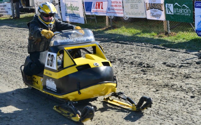 Snowmobile grass drag racing revived in Ashland - Fiddlehead