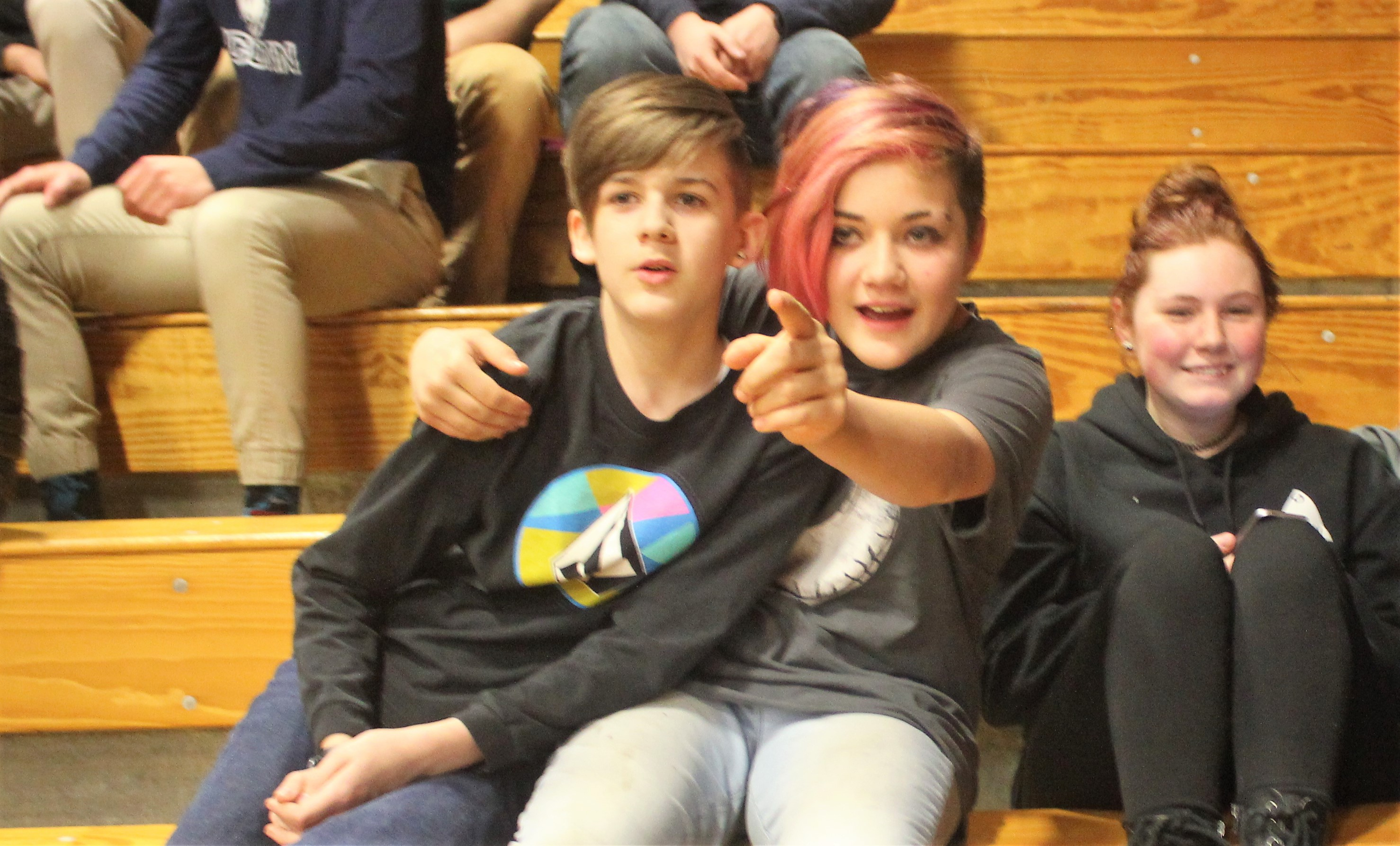Former pro wrestler inspires, moves Valley students with