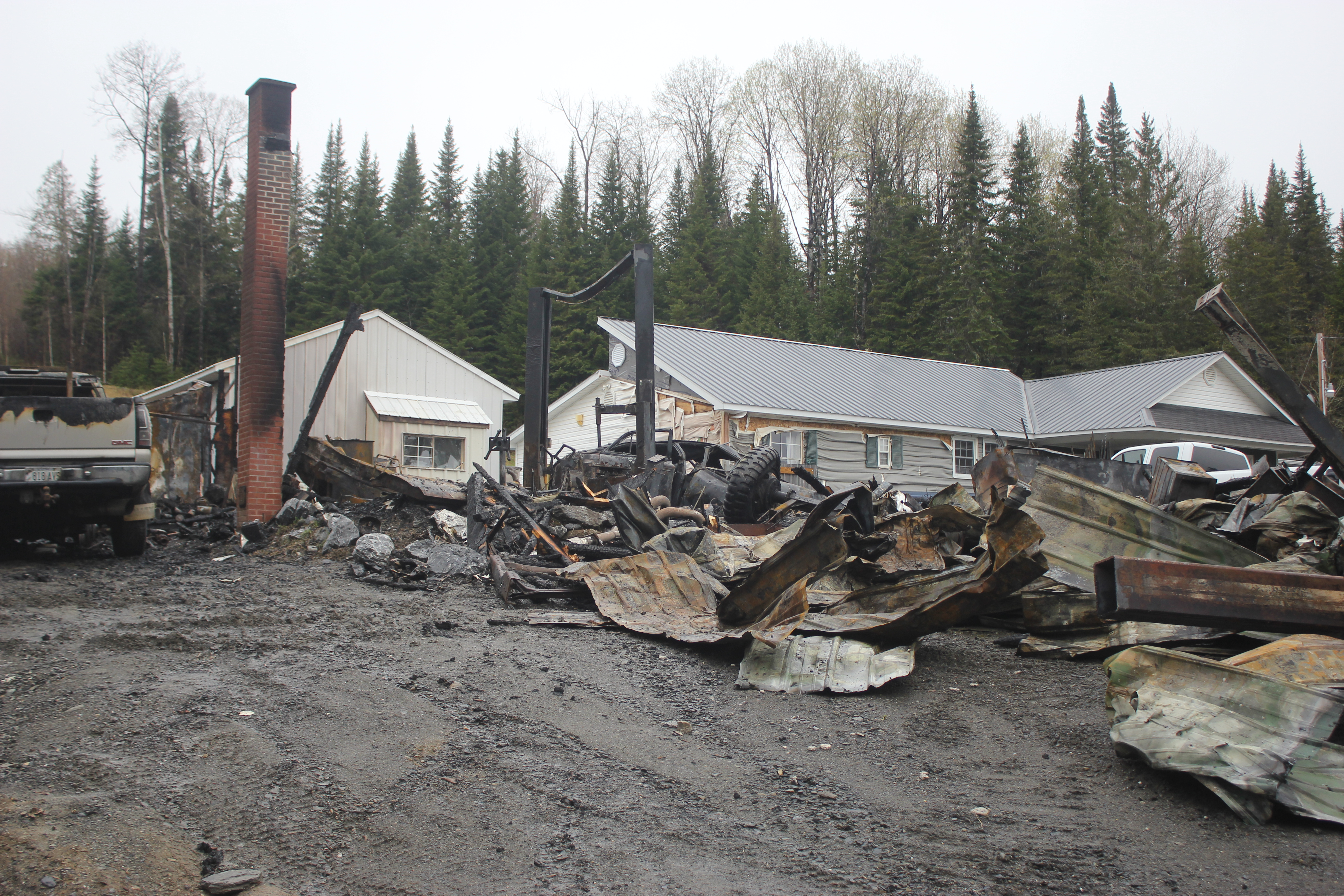 Dog alerts family to early morning fire in Fort Kent - Fiddlehead Focus